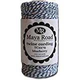 Maya Road TC2279 Baker's Twine Cording, Blueberry