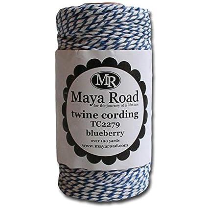 Maya Road TC2279 TC2279 Baker's Twine Cording, Blueberry