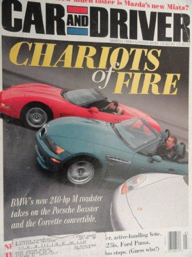 1998 Chevrolet Chevy Corvette / BMW M Roadster / Porsche Boxster Road Test