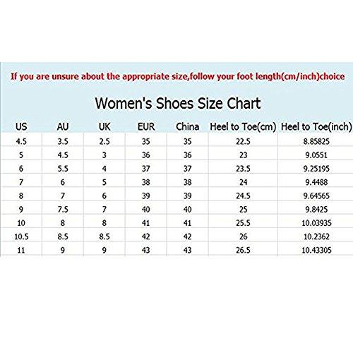 Air Perméable À Plein Espadrille Femme Chaussures Formateurs Blau Léger Rocker Été L'air forme En Maille Semelles Plate Fitness Confortables U1qHYp