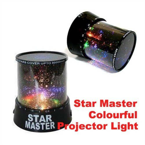 Star Master Projector Colourful Starry Light Lighting Projector - 1