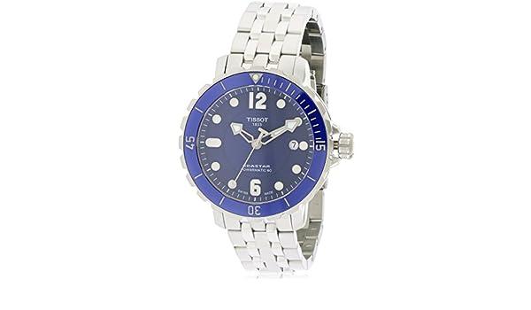 Tissot T-Sport Seastar 1000 Esfera Azul Reloj Automático Hombre t0664071104702: Tissot: Amazon.es: Relojes
