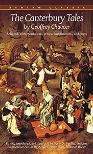 Paperback The Canterbury Tales (Bantam Classics) Book