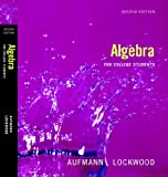 Algebra for College Students, Maria H. Andersen, 0840061676