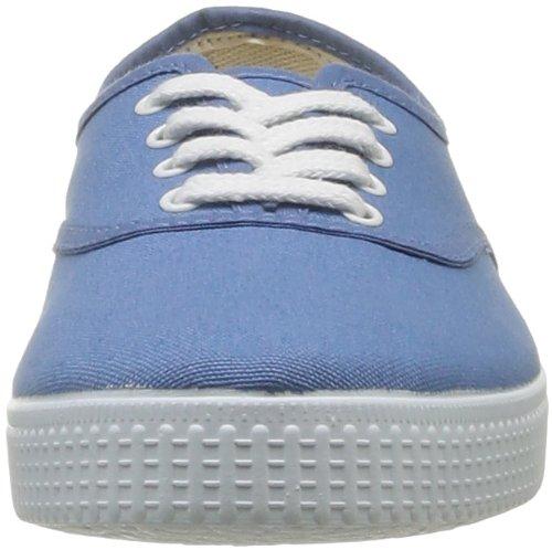 Victoria Inglesa Lona 6613, Zapatillas de Tela Unisex Azul (36 Azul)