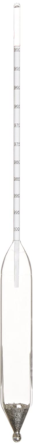 Thermco GW317H Plain Form Density Hydrometer 900 to 950kg//m3 Range 0.5kg//m3 Division ASTM 317H 330mm Length Thermco Products Inc.