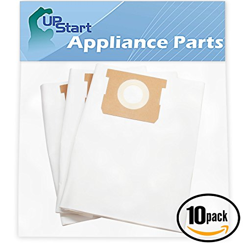 Wal Mart 10k - 30 Replacement for Shop-Vac Walmart Wet/Dry Vac 598-08-27 Vacuum Bags - Compatible with Shop-Vac 90661 Vacuum Bags (10-Pack, 3 Bags Per Pack)