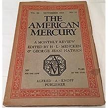 American Mercury November 1924