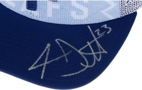 Travis Dermott Toronto Maple Leafs Autographed 2015 NHL Draft Cap Limited Edition of 16 Fanatics Authentic Certified