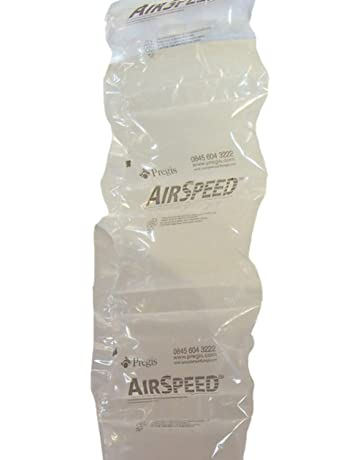 550 Small Biodegradable Opus Bio Plastic Air Filled Pillows Cushions 15 Cubic Feet Size 100 x 200mm Pre-Inflated Polythene Void Loose Fill Filling Filler Packing Protective Packaging