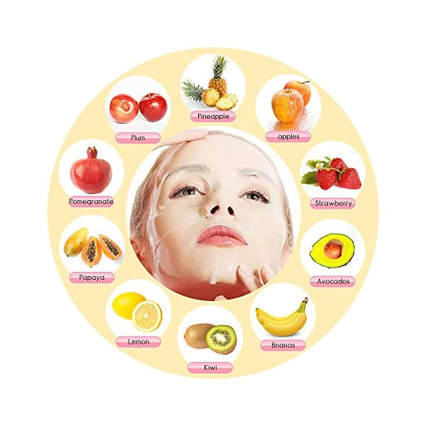 MS.DEAR Facial Cream Maker Machine Collagen Fruit Vegetable DIY Automatic Face Cream Making with 32 Counts Collagen…
