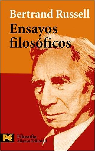 Ensayos filosóficos El Libro De Bolsillo - Filosofía: Amazon.es: Bertrand Russell, Juan Ramón Capella: Libros