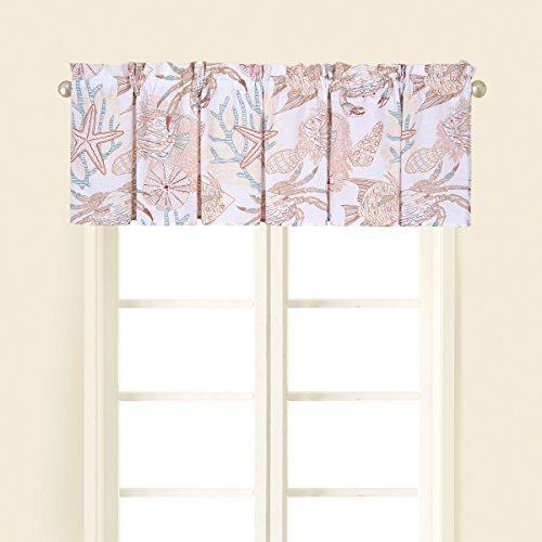 15.5x72 Inches, Key Biscayne Valance (Valance Fish)