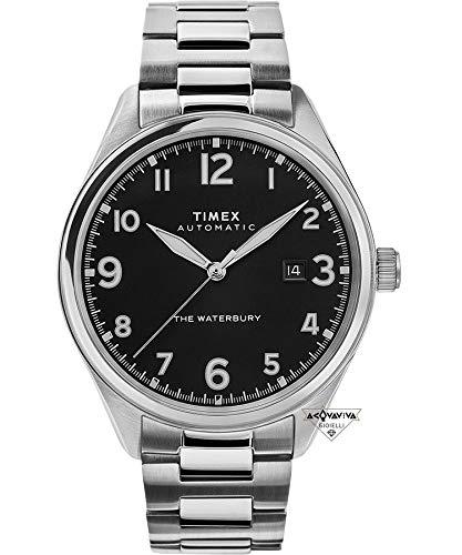 Waterbury Automatic Watch (Black/Traditional/Steel)