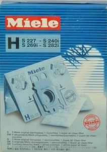Miele H bolsas para aspiradora 4002512434751, mi-1402: Amazon.es: Hogar