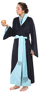 ThinkGeek Medieval Princess Bathrobe | ThinkGeek