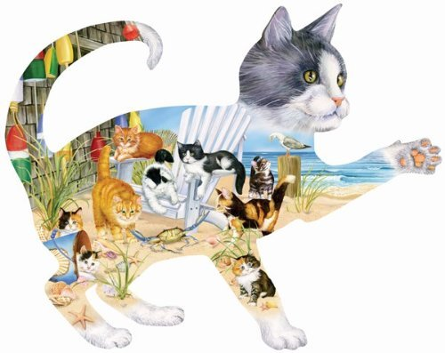 Beach Cats 900 pc Jigsaw Puzzle