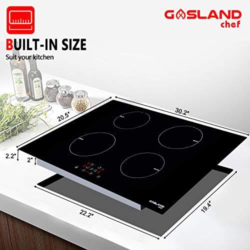 Amazon.com: Placa de inducción, cocina eléctrica de ...