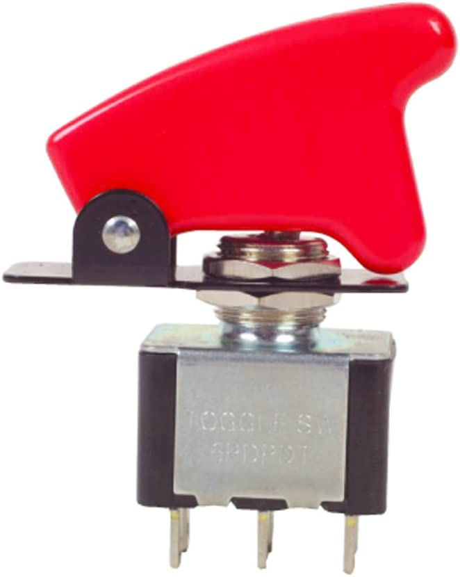 Toggle Flick Switch Cover Aircraft Flip Red Missile Rally Car Robinson K889R