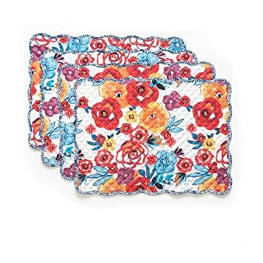 The Pioneer Woman Flea Market Reversible Placemat, 4pk