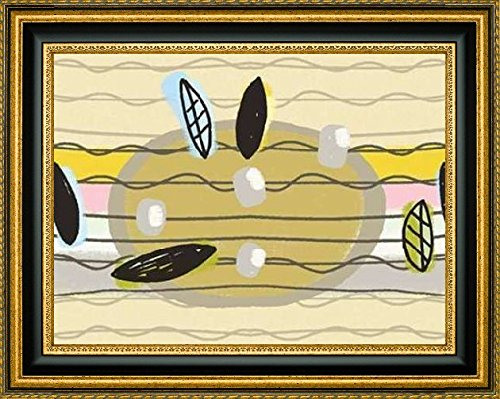 Framed Canvas Print Wall Art Blackbirds Ukulele Strings by L
