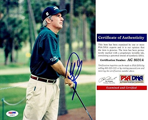 Curtis Strange Autographed Photo - 8x10 Certificate of Authenticity COA) - PSA/DNA Certified - Autographed Golf Photos