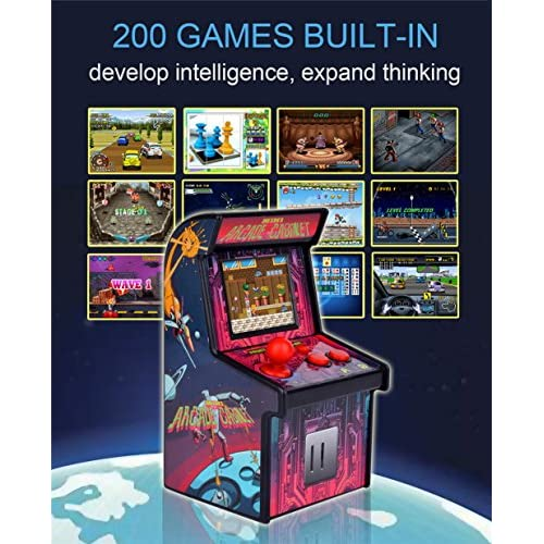 hot sale Retro Mini Arcade Game Machines for kids with 200