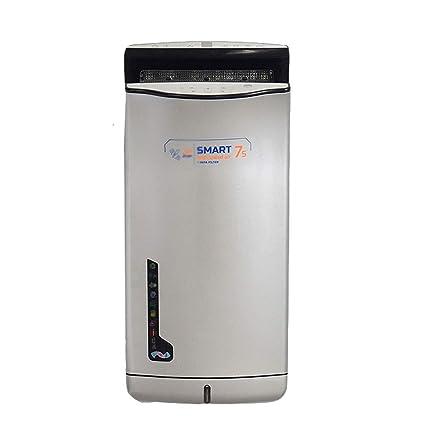 Secador de Manos Vertical Comercial para Secado Rápido para Baño, 1200 W, Plateado (