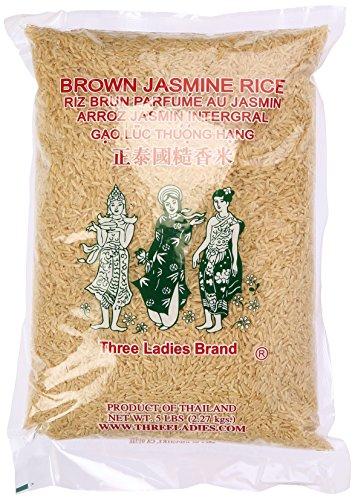 Three Ladies  Brown Jasmine Rice 5 lbs