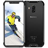 Rugged Cell Phones Unlocked, Blackview BV9600 pro 4G Rugged Smartphone IP68 Android 9.0 Octa Core 6GB RAM+128GB ROM 6.21 Inches 19:9 FHD+ 5580mAh 16MP+8MP Rugged Phones AT&T T-Mobile Verizon, Grey
