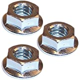 Husqvarna Craftsman Poulan Chainsaw (3 Pack) Replacement Flange Nut # 530015251-3pk