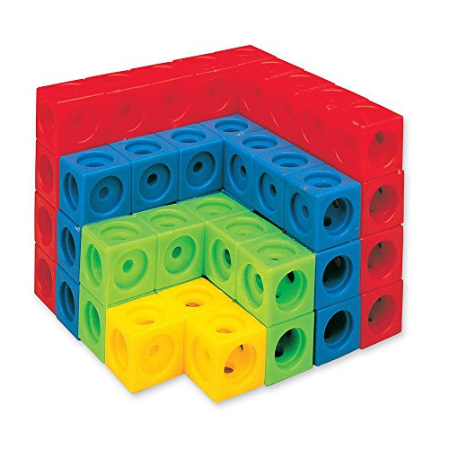 hand2mind Multi-Sided Linking Cubes (Pack of 100)
