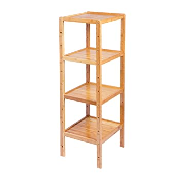 LPZ-Shelving Ecke Standregal Bad Holz Organisation Lagerregal ...