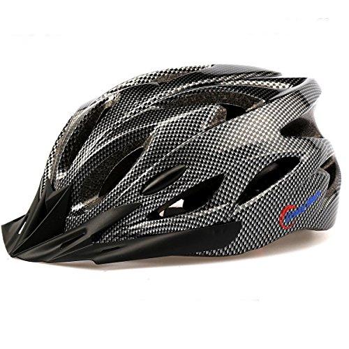 Crazy Mars Ultralight Stable Road/Mountain Mens/Womens Bike Helmet-black
