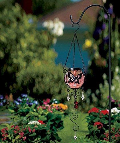 Merveilleux Butterfly Solar Hanging Garden Decor