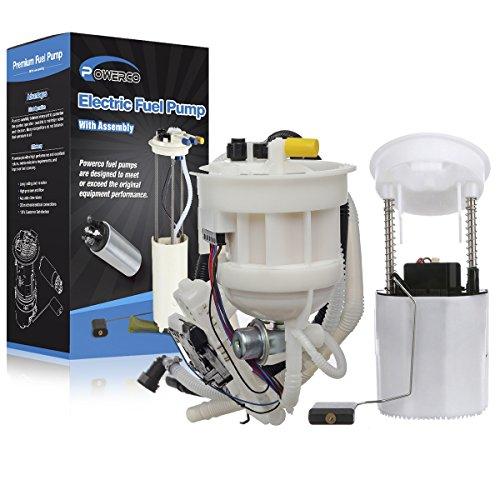 (POWERCO Electric Fuel Pump Module Assembly For Benz C Series E8531M 2114704094 Left & Right Side C230 C350 CLK350 CLK500)