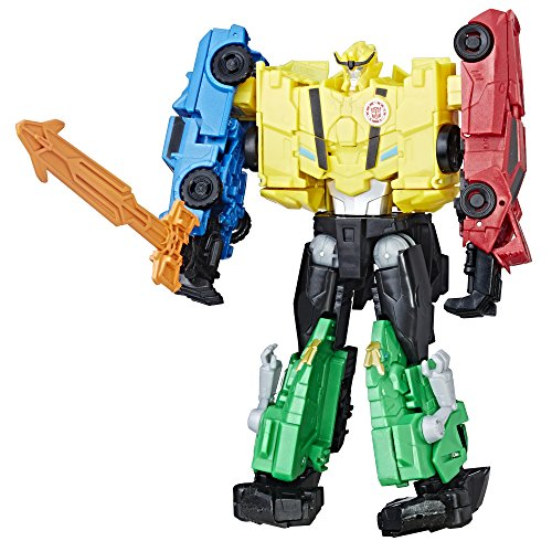 Transformers Toys Autobot Team Combiner Pack - 4 Figure Gift Set - Figures Combine into a Super Robot - Toys for Kids 6 and Up - 8.5 inch scale