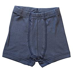 Teen Boys\' Organic Cotton Underwear Boxers (176 / 14-16 years, Graphite)