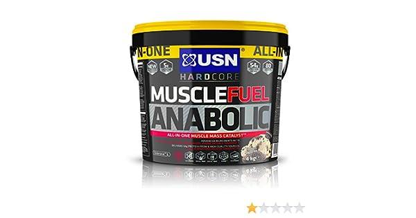 USN Muscle Fuel Anabolic Cookies & Cream - 4000 gr: Amazon.es: Salud y cuidado personal