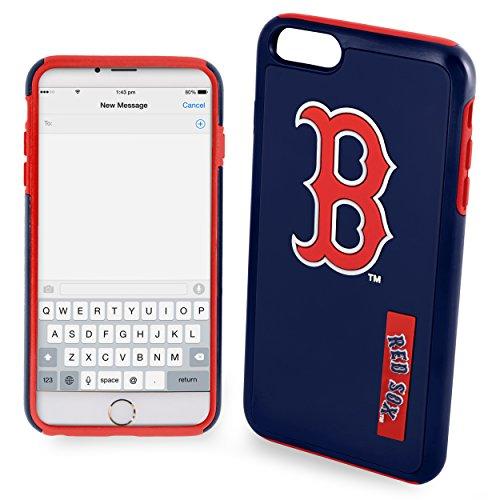 Boston Red Sox Impact TPU 2-Piece Dual Hybrid iPhone 8 PLUS / iPhone 7 PLUS / iPhone 6 PLUS / 6s PLUS - 5.5