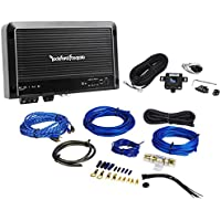 Rockford Fosgate R250X1 250 Watt RMS Mono Block Car Audio Amplifier + Amp Kit