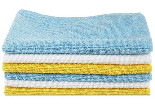 AmazonBasics-CW190423DEU-Microfiber-Cleaning-Cloth-222-GSM-Pack-of-6-Multicolor