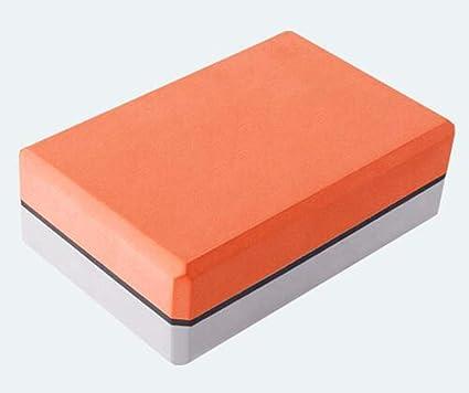 Amazon.com: GXF Yoga Brick - High Density EVA Two Color ...