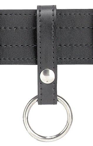 Safariland 67S-2 Single Snap Ring Style Baton Holder, Black, Plain