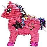 Aztec Imports Stardust Unicorn Piñata, Pink