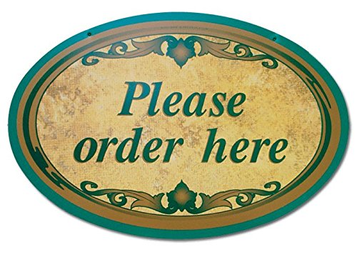 Please Order Here Sign ()