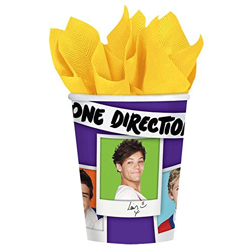 One Direction Paper Cups (8ct) -