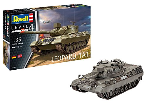 Revell 03258, Leopard 1A1, 1:35 Scale Plastic Model