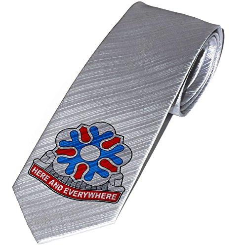 Necktie / Tie with U.S. Army 704th Military Intelligence Brigade insignia