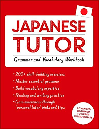 amazon com japanese tutor grammar and vocabulary workbook learn